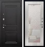 Входная металлическая дверь Армада Лондон с Зеркалом Пастораль (Венге / Сандал белый)