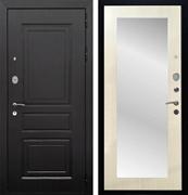 Входная металлическая дверь Армада Лондон с Зеркалом Пастораль (Венге / Лиственница беж)