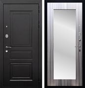 Входная металлическая дверь Армада Лондон с Зеркалом Пастораль (Венге / Сандал серый)