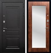 Входная металлическая дверь Армада Лондон с Зеркалом Пастораль (Венге / Берёза морёная)