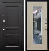 Входная металлическая дверь Армада Лондон с Зеркалом (Венге / Дуб беленый)