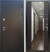 Входная металлическая дверь Армада Премиум 246 с Зеркалом СБ-16 (Венге / Венге)