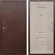 Входная металлическая дверь Армада 1 (Антик медь / Дуб белёный)