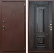 Входная металлическая дверь Армада 1 (Антик медь / Венге)