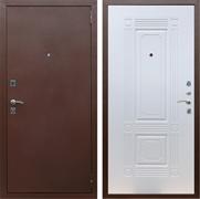 Входная металлическая дверь Армада 1 (Антик медь / Белый ясень)