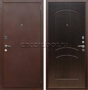 Входная металлическая дверь Армада 1А ФЛ-110 (Антик медь / Венге)