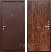 Входная металлическая дверь Армада 1А ФЛ-110 (Антик медь / Орех)