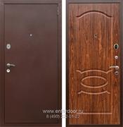 Входная металлическая дверь Армада 2 ФЛ-128 (Антик медь / Берёза морёная)