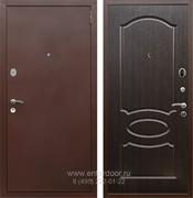 Входная металлическая дверь Армада 2 ФЛ-128 (Антик медь / Венге)
