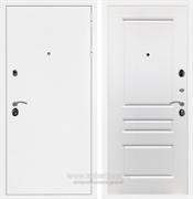 Входная металлическая дверь Армада 5А ФЛ-243 (Белая шагрень / Белый матовый)
