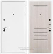 Входная металлическая дверь Армада 5А ФЛ-243 (Белая шагрень / Дуб беленый)