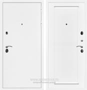 Входная металлическая дверь Армада 5А ФЛ-119 (Белая шагрень / Белый матовый)