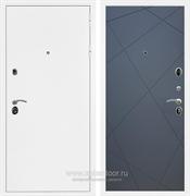 Входная металлическая дверь Армада 5А ФЛ-291 (Белая шагрень / Графит софт)
