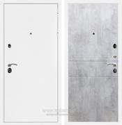 Входная металлическая дверь Армада 5А ФЛ-290 (Белая шагрень / Бетон светлый)