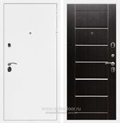 Входная металлическая дверь Армада 5А Сити (Белая шагрень / Венге)