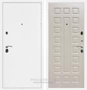Входная металлическая дверь Армада 5А ФЛ-183 (Белая шагрень / Дуб белёный)