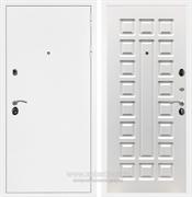 Входная металлическая дверь Армада 5А ФЛ-183 (Белая шагрень / Белый ясень)