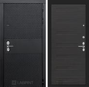 Входная металлическая дверь Лабиринт Black 14 (Чёрный кварц / ЭкоВенге)