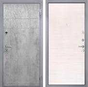 Входная металлическая дверь Интекрон Спарта Грей (Бетон темный / Дуб сильвер)