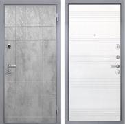 Входная металлическая дверь Интекрон Спарта Грей ФЛ-316 (Бетон темный / Ясень белый)