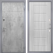 Входная металлическая дверь Интекрон Спарта Грей ФЛ-39 (Бетон темный / Сандал белый)
