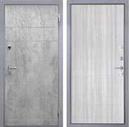 Входная металлическая дверь Интекрон Спарта Грей L-5 (Бетон темный / Сандал белый)