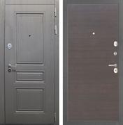 Входная стальная дверь Интекрон Брайтон (Дуб вуд графит / ЭкоВенге)