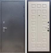 Входная стальная дверь Армада 11 ФЛ-183 (Антик серебро / Дуб белёный)