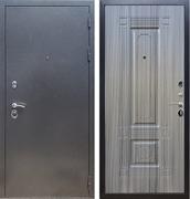Входная стальная дверь Армада 11 ФЛ-2 (Антик серебро / Сандал серый)