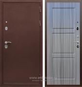 Входная металлическая дверь Армада 5А ФЛ-3 (Медный антик / Сандал серый)