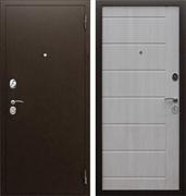 Входная металлическая дверь АСД Комфорт (Антик медный / ЭкоДуб)