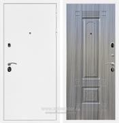 Входная металлическая дверь Сенатор Практик 3К ФЛ-2 (Белая шагрень / Сандал серый)