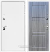 Входная металлическая дверь Сенатор Практик 3К ФЛ-3 (Белая шагрень / Сандал серый)