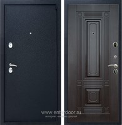 Входная металлическая дверь Армада 3 ФЛ-2 (Черный крокодил / Венге)