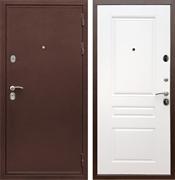 Входная металлическая дверь Сенатор Практик 3К ФЛ-243 (Медный антик / Белый матовый)
