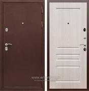 Входная металлическая дверь Сенатор Практик 3К ФЛ-243 (Медный антик / Дуб беленый)