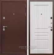 Входная металлическая дверь Сенатор Практик 3К ФЛ-243 (Медный антик / Сандал белый)