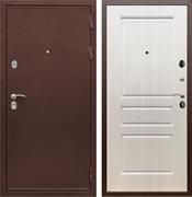 Входная металлическая дверь Сенатор Практик 3К ФЛ-243 (Медный антик / Лиственница беж)