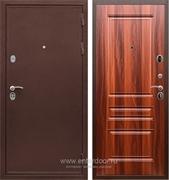 Входная металлическая дверь Сенатор Практик 3К ФЛ-243 (Медный антик / Орех итальянский)