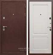 Входная металлическая дверь Сенатор Практик 3К ФЛ-117 (Медный антик / Слоновая кость)