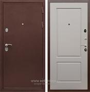 Входная металлическая дверь Сенатор Практик 3К ФЛ-117 (Медный антик / Софт Грей)