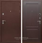 Входная металлическая дверь Сенатор Практик 3К ФЛ-117 (Медный антик / Орех премиум)