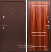 Входная металлическая дверь Сенатор Практик 3К ФЛ-117 (Медный антик / Орех итальянский)