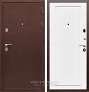 Входная металлическая дверь Сенатор Практик 3К ФЛ-119 (Медный антик / Белый матовый)