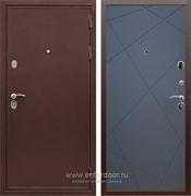 Входная металлическая дверь Сенатор Практик 3К ФЛ-291 (Медный антик / Графит софт)