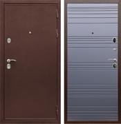 Входная металлическая дверь Сенатор Практик 3К ФЛ-294 (Медный антик / Графит софт)