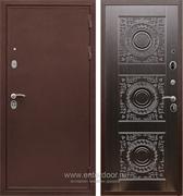 Входная металлическая дверь Сенатор Практик 3К Д-18 (Медный антик / Венге)