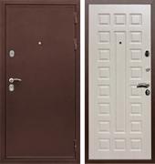 Входная металлическая дверь Сенатор Практик 3К ФЛ-183 (Медный антик / Дуб белёный)
