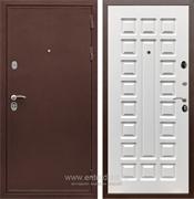 Входная металлическая дверь Сенатор Практик 3К ФЛ-183 (Медный антик / Белый ясень)