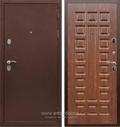 Входная металлическая дверь Сенатор Практик 3К ФЛ-183 (Медный антик / Берёза морёная)